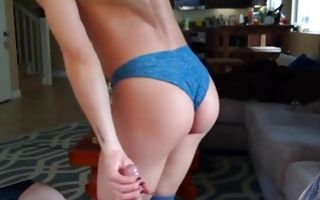 My GF with big boobs and perfect butt sucking heavy rod