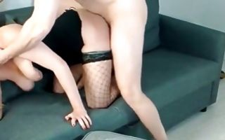 Hot girlfriend with adorable body has rough sex with dude