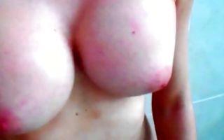 Awesome amateur slut Ashley Jane has rough lesbian sex