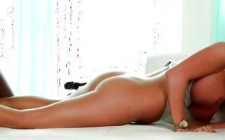 Nasty blonde Ex-GF Angeline has rough sex with black man