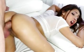 Marvelous ex-girlfriend has painful anal sex with dude
